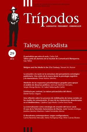 View No. 29 (2012): Talese, periodista