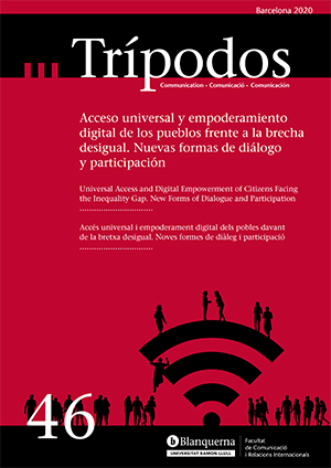 View No. 46 (2020): Universal Access and Digital Empowerment of Citizens Facing the Inequality Gap