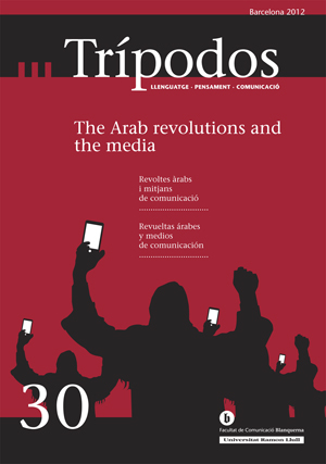 View No. 30 (2012): The Arab revolutions and the media