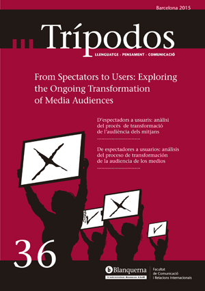 View No. 36 (2015): From Spectators to Users: Exploring the Ongoing Transformation of Media Audiences